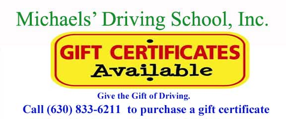 gift certificates for drivers education class.  Print coupon now!